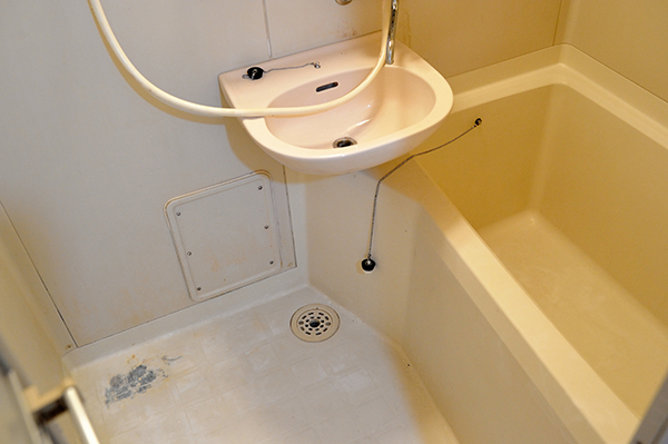 浴室、ユニットバス クリーニング後